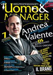 UOMO & MANAGER Magazine Cover