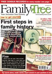 Family Tree September 2015 issue Family Tree September 2015