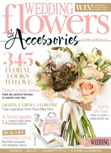 wedding flowers magazine sep oct 15 subscriptions pocketmags. Black Bedroom Furniture Sets. Home Design Ideas