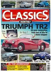 Classics Monthly Magazine Cover