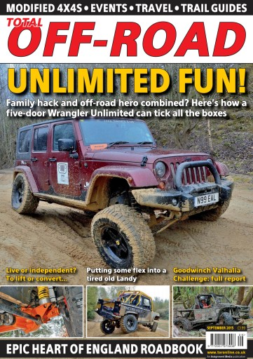 4x4 magazine incorporating total off road september 2015 subscriptions pocketmags. Black Bedroom Furniture Sets. Home Design Ideas
