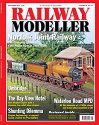 Railway Modeller September 2015 issue Railway Modeller September 2015