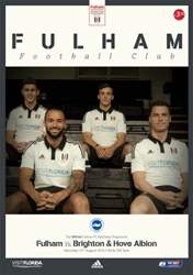 Fulham Vs. Brighton & Hove Albion 2015-16 issue Fulham Vs. Brighton & Hove Albion 2015-16