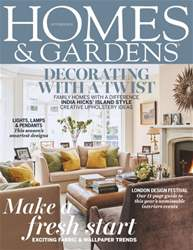 Homes & Gardens Magazine Cover