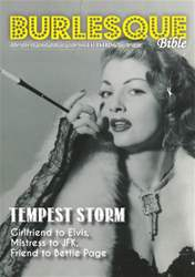 Special Tempest Storm mini-mag issue Special Tempest Storm mini-mag