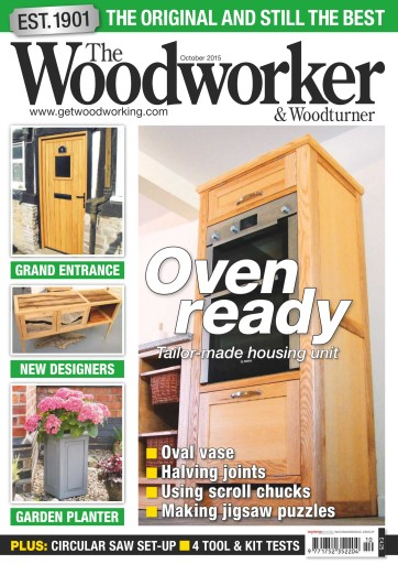 The Woodworker Magazine October 2015 Subscriptions Pocketmags