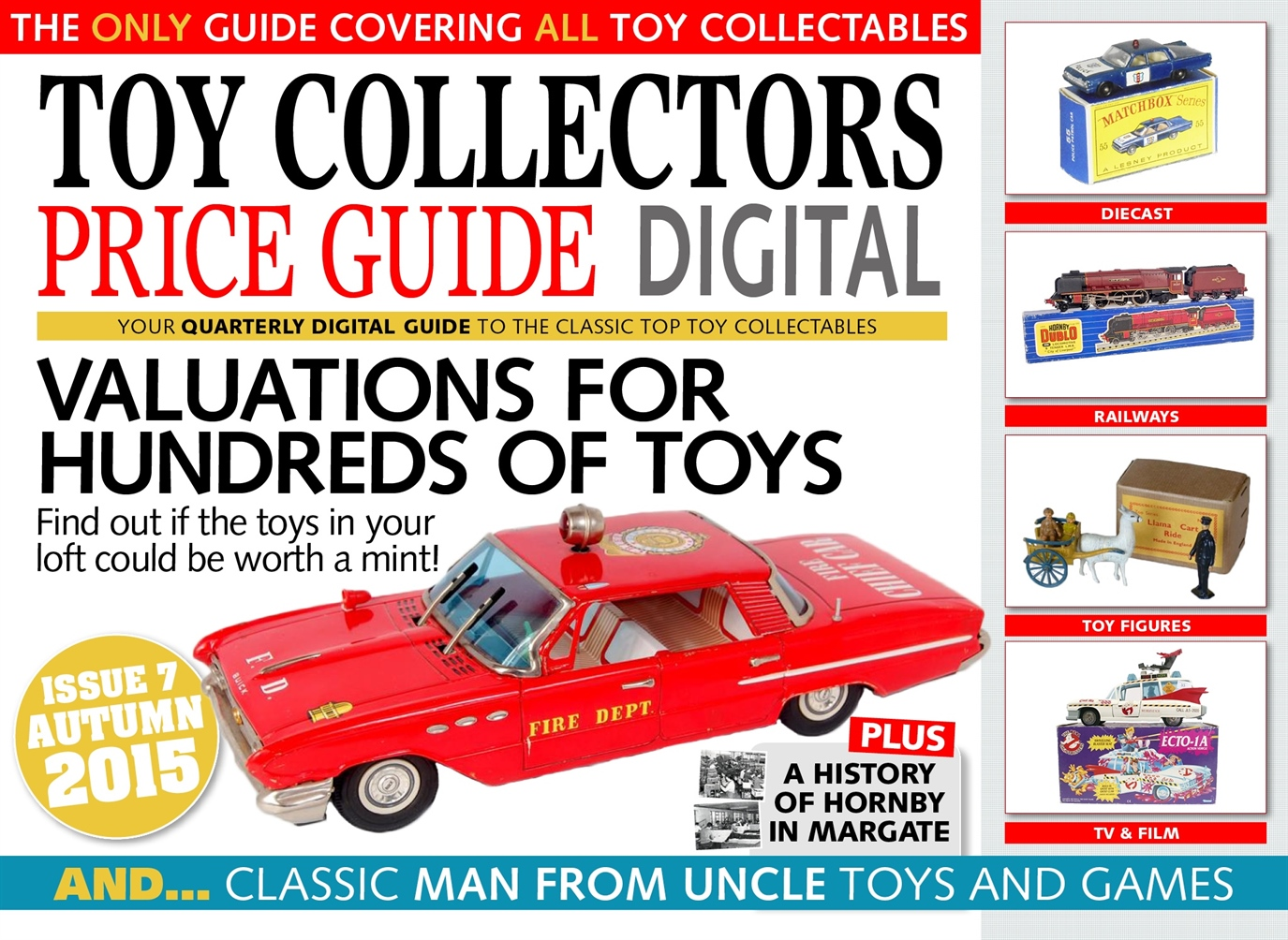 Toy Collectors Price Guide Magazine - Autumn 2015 Subscriptions ...