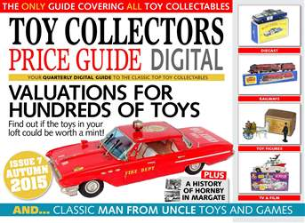 Toy Collectors Price Guide Magazine Cover