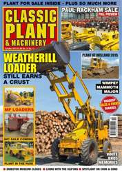 Vol. 13 No. 13 Weatherill Loader issue Vol. 13 No. 13 Weatherill Loader