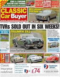 No. 294 TVR's Sold Out in Six Weeks! issue No. 294 TVR's Sold Out in Six Weeks!