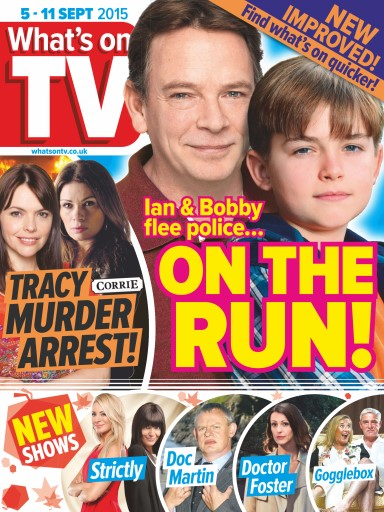 what 39 s on tv magazine 5th september 2015 subscriptions pocketmags. Black Bedroom Furniture Sets. Home Design Ideas