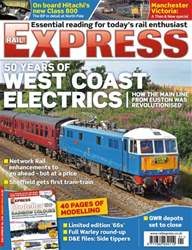 Rail Express Magazine Cover