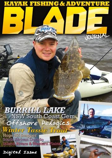 Blade Kayak Fishing Journal Preview