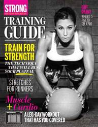 Training Guide August/September 2015 issue Training Guide August/September 2015