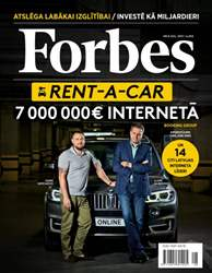 Forbes Septembris'15 issue Forbes Septembris'15