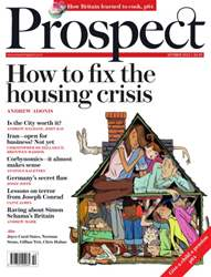 Prospect  October 2015 issue Prospect  October 2015