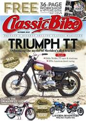 Classic Bike Magazine Cover