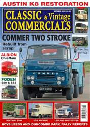 Classic & Vintage Commercials Magazine Cover