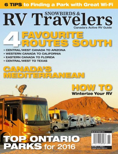 Snowbirds & RV Travelers Magazine