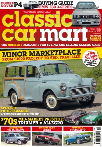 Classic Car Mart Preview