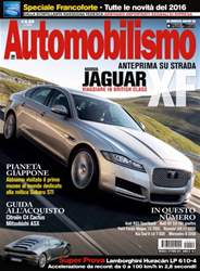 Automobilismo 10 2015 issue Automobilismo 10 2015