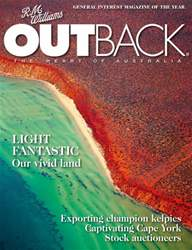 OUTBACK 103 issue OUTBACK 103