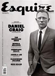 Esquire Singapore Magazine Cover