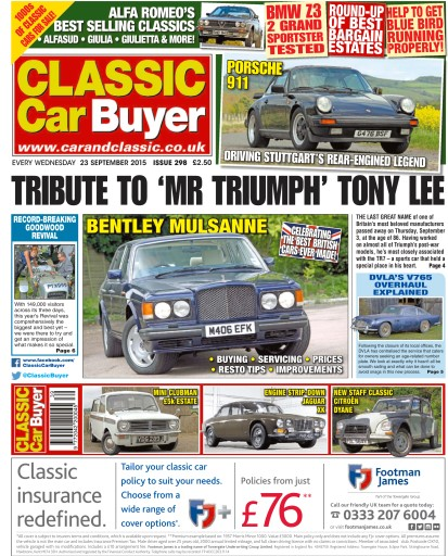 Classic Car Buyer Digital Issue