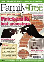 Family Tree November 2015 issue Family Tree November 2015