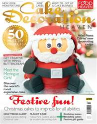 Cake Decoration Heaven Winter 15 issue Cake Decoration Heaven Winter 15