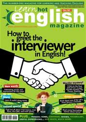 Learn Hot English 161 October issue Learn Hot English 161 October