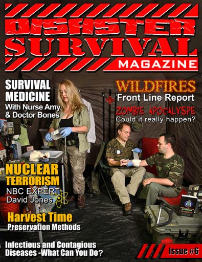 Disaster Survival Magazine Preview