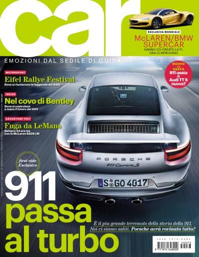 CAR magazine Italia Preview