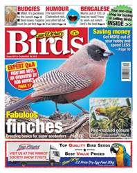 No. 5874 Fabulous Finches issue No. 5874 Fabulous Finches