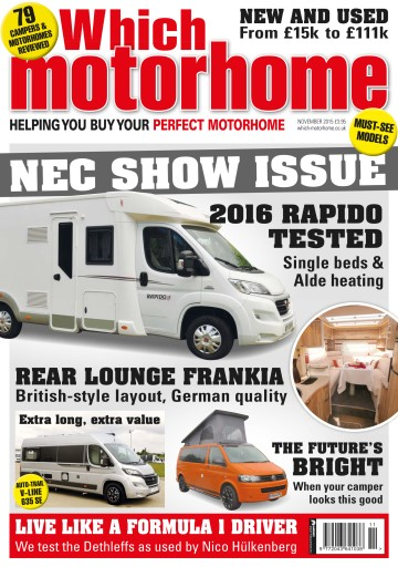 What Motorhome magazine Digital Issue