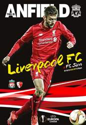 Liverpool v FC Sion 201516 Europa League issue Liverpool v FC Sion 201516 Europa League