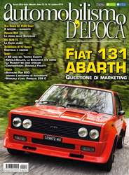 Automobilismo d'Epoca 10 2015 issue Automobilismo d'Epoca 10 2015