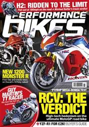 Performance Bikes Magazine Cover