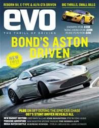 Evo Magazine Cover