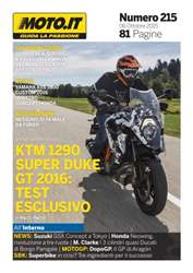Moto.it Magazine n.215 issue Moto.it Magazine n.215