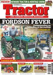 November 2015 Fordson Fever issue November 2015 Fordson Fever