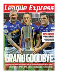 League Express Magazine Cover