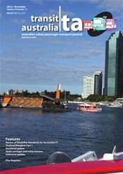 Transit Australia Magazine Cover