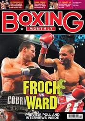 Boxing Monthly October 2011 issue Boxing Monthly October 2011