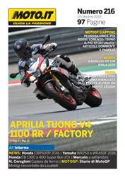 Moto.it Magazine n. 216 issue Moto.it Magazine n. 216
