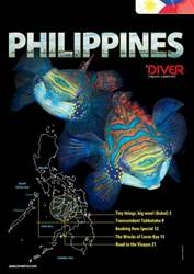 DIVER PHILIPPINES Supplement  issue DIVER PHILIPPINES Supplement