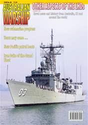 Australian Warship Magazine Cover