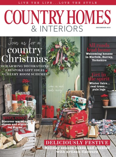Country Homes Interiors Magazine December 2015 Subscriptions Pocketmags