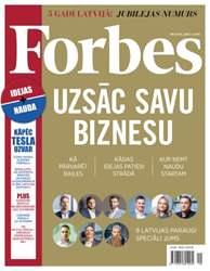 Forbes Oktobris 2015 issue Forbes Oktobris 2015