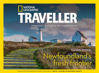 National Geographic Traveller Australia and New Zealand issue National Geographic Traveller Australia and New Zealand
